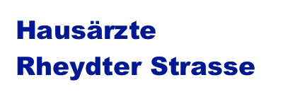 Hausärzte Rheydter Strasse Logo